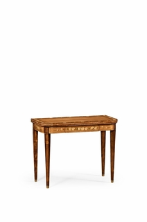 492146 Jonathan Charles Versailles Painted Card Table