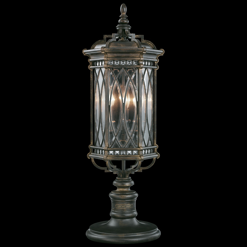 Outdoor Wall Mounted Lights For Sale: 611283ST Fine Art Lamps Warwickshire 32 Inch 3 Light