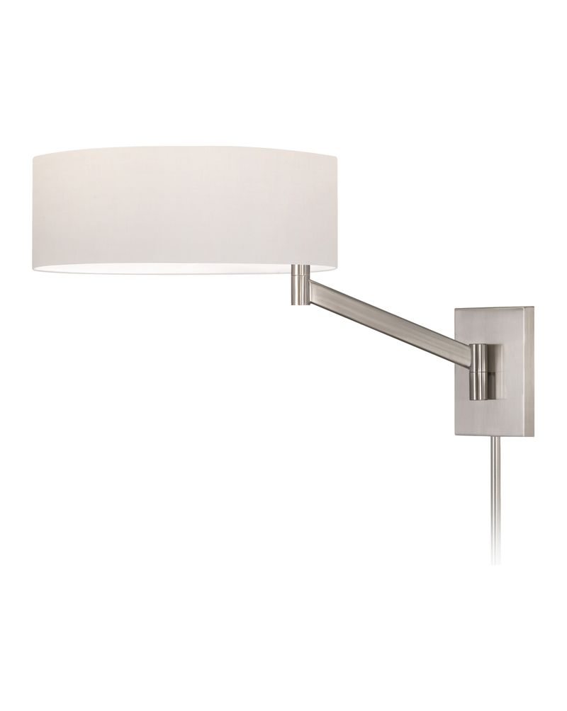 sonneman perch contemporary swing arm wall lamp with polished. Black Bedroom Furniture Sets. Home Design Ideas