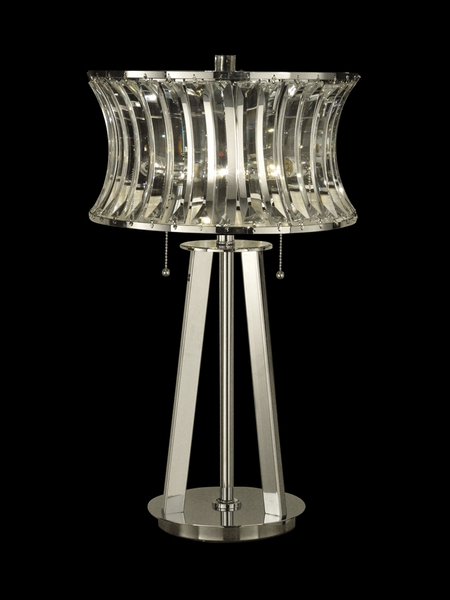 Gt10241 Dale Tiffany Crystal Table Lamp