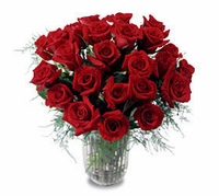The FTD® Two Dozen Long Stemmed Roses<font color=black>< <b180.00