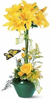 topiary  Sunburst® Bouquet