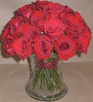 Two Dozen Long Stemmed Roses