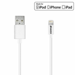 Lightning to USB Cable (6 Feet/1.8 Meters) - White