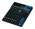 10-Channel Mixing Console: Max. 4 Mic / 10 Line Inputs (4 mono + 3 stereo) / 1 Stereo Bus / 1 AUX (incl. FX) � MG10