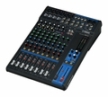 12-Channel Mixing Console: Max. 6 Mic / 12 Line Inputs (4 mono + 4 stereo) / 2 GROUP Buses + 1 Stereo Bus / 2 AUX (incl. FX) � MG12