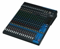 20-Channel Mixing Console: Max. 16 Mic / 20 Line Inputs (12 mono + 4 stereo) / 4 GROUP Buses + 1 Stereo Bus / 4 AUX (incl. FX) � MG20