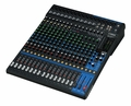 20-Channel Mixing Console: Max. 16 Mic / 20 Line Inputs (12 mono + 4 stereo) / 4 GROUP Buses + 1 Stereo Bus / 4 AUX (incl. FX) � MG20XU