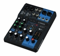 6-Channel Mixing Console: Max. 2 Mic / 6 Line Inputs (2 mono + 2 stereo) / 1 Stereo Bus � MG06X