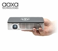 AAXA P700 HD LED Pico Projector, 650 Lumen, 70+ Min Battery, HDMI, Media Player, 15,000 Hour LED