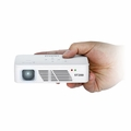 AAXA ST200 LCoS Short Throw LED Pico Projector, 150 Lumens with 60 Min Battery, 720p (WXGA), HDMI, Mini-VGA, 15,000 Hour LED