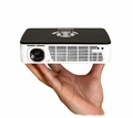 AAXA Technologies P300 Pico Projector, Pocket Size, 400 Lumen LED, HDMI, ARM Processor, Optional Rechargeable Battery