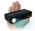 AAXA Technologies P4X Pico Projector, Pocket Size, Rechargeable Battery, 95 Lumen LED, HDMI, Media Player