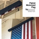 Draper Patriot Motorized Flag
