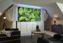"Elite Screens Aeon Ambient Light Rejection Screen, 84"" w/ Backlight Kit"