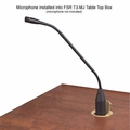 FSR T3-MJ+1BM Table Microphone Box with LED and Mic Mute