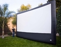 Inflatable Portable Projection Screens