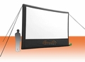 Open Air Home Screen - 18' Inflatable Rear Projection Screen - Demo Unit