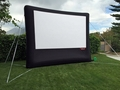 Open Air Movies Outdoor Screen 11.5' Inflatable Rear Projection Screen - B-10R