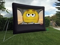 Open Air Movies Outdoor Screen 15' Inflatable Rear Projection Screen - B-13R