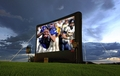 Open Air Movies Outdoor Screen 19.5' Inflatable Rear Projection Screen - B-17R