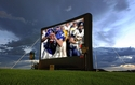 "Outdoor Movie Theater System - Platinum Package - Full HD System on an 19' 6"" Screen!"