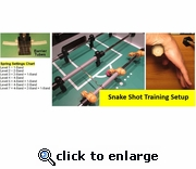 Stretch Goal Pull and Snake Training System