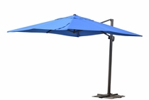 10' Square Cantilever Umbrella with Fillable Base (MF)