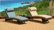 """""""All Weather"""" Grenada Chaise Lounge Set of 2 (MF)"""