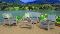 Cape May Porch Set of Four (MF)