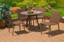 Motu Dining Set of 5 (MF)