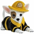 Ave Chihuahua Fire Pup Figurine