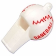 Baseball Whistle Cupcake Toppers 24 Pack