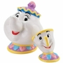 Beauty and the Beast Mrs. Potts and Chip Magnetic Salt and Pepper Shaker Set