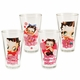 Betty Boop 16 oz. Pint Glasses Set of 4
