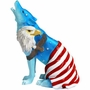 Call of the Wolf American Eagle Figurine