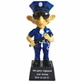 Coots He's Gotta Nightstick Police Officer Bobble Figurine
