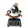 Coots Motorcycle Rocker Animated Musical Figurine