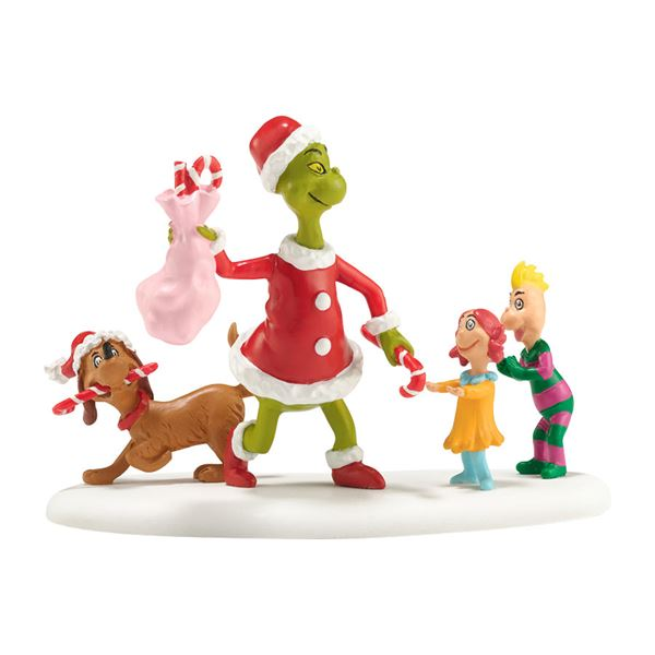 Dept 56 Grinch Village Who's Been A Good Who? Figurine - Fast & Easy ...
