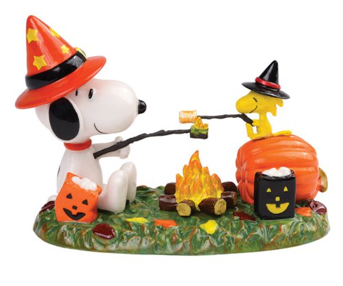 Dept. 56 Peanuts Village Halloween Roasting and Toasting - Fast & Easy ...
