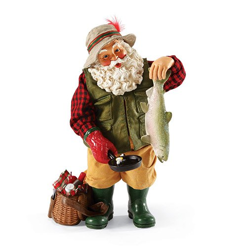 Dept. 56 Possible Dreams Santa Catch of the Year