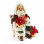 Dept. 56 Possible Dreams Santa Festive Blooms
