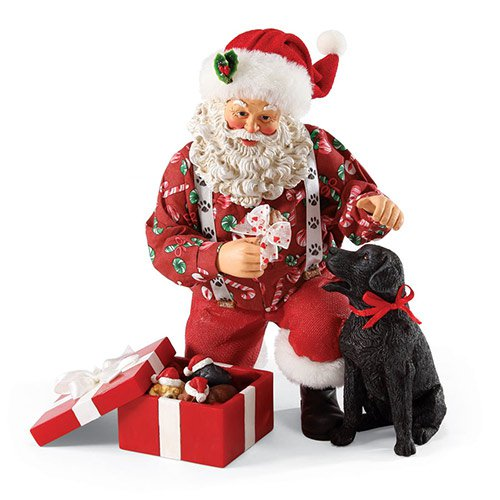 Dept. 56 Possible Dreams Santa Lab Results