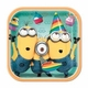 "Despicable Me 2 9"" Lunch Plates 8 Pack"