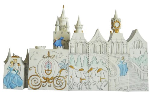Disney Cinderella Pillar Sculpture 8 Piece Set - Fast & Easy Shipping ...