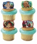 Disney Jake and the Never Land Pirates Never Land Gang Cupcake Rings 12 Pack