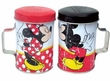 Disney Mickey & Friends Mickey and Minnie Kiss Tin Salt and Pepper Shakers