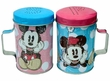Disney Mickey & Friends Mickey and Minnie Polka Dots Tin Salt & Pepper Shakers