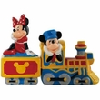 Disney Mickey & Minnie Mouse Choo Choo Salt and Pepper Shakers