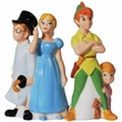 Disney Peter Pan and Friends Salt and Pepper Shakers
